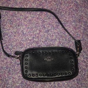 Coach purse with shoulder strap